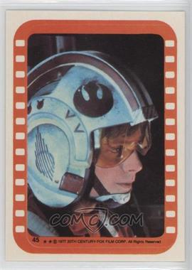 1977 Topps Star Wars - Stickers #45 - Luke Skywalker