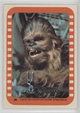 1977 Topps Star Wars - Stickers #46 - Chewbacca