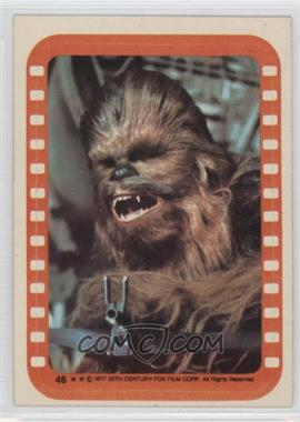 1977 Topps Star Wars - Stickers #46 - Chewbacca