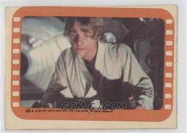 1977 Topps Star Wars - Stickers #49 - Luke Skywalker