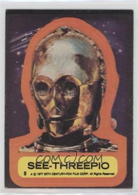 1977 Topps Star Wars - Stickers #5 - See-Threepio