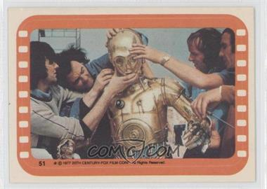 1977 Topps Star Wars - Stickers #51 - See-Threepio