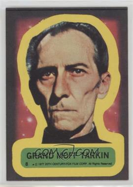 1977 Topps Star Wars - Stickers #8 - Grand Moff Tarkin