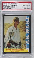 Luke Skywalker (Mark Hamill) [PSA 8 NM‑MT]