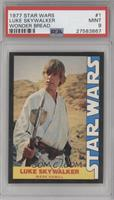 Luke Skywalker (Mark Hamill) [PSA 9]