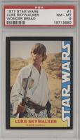 Luke Skywalker (Mark Hamill) [PSA 8]