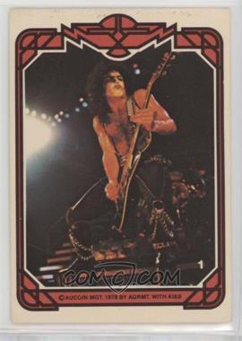 1978 Donruss Kiss Series 1 - [Base] #1 - Paul Stanley [GoodtoVG‑EX]
