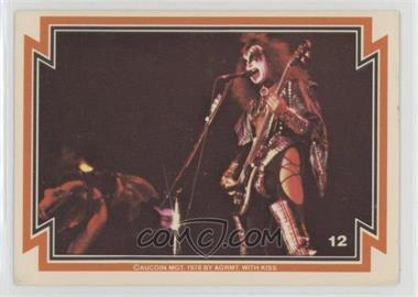 1978 Donruss Kiss Series 1 - [Base] #12 - Gene Simmons [GoodtoVG‑EX]