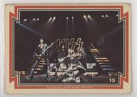 Kiss (Gene Simmons, Paul Stanley, Ace Frehley, Peter Criss) [Poor to …