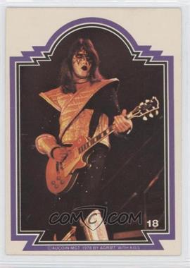 1978 Donruss Kiss Series 1 - [Base] #18 - Ace Frehley