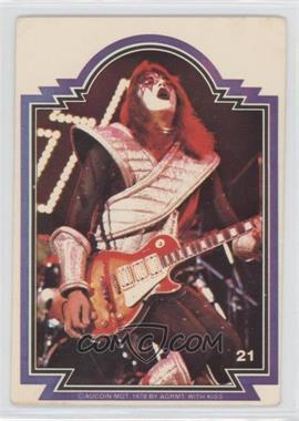 1978 Donruss Kiss Series 1 - [Base] #21 - Ace Frehley [Good to VG‑EX]