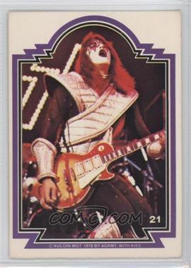 1978 Donruss Kiss Series 1 - [Base] #21 - Ace Frehley [GoodtoVG‑EX]