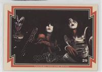 Gene Simmons, Paul Stanley, Ace Frehley