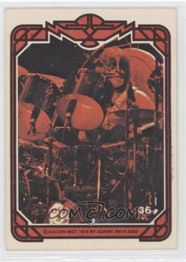 1978 Donruss Kiss Series 1 - [Base] #36 - Peter Criss