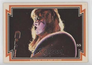 1978 Donruss Kiss Series 1 - [Base] #55 - Ace Frehley
