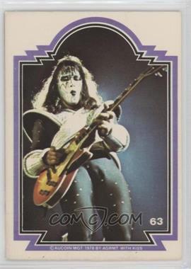1978 Donruss Kiss Series 1 - [Base] #63 - Ace Frehley [GoodtoVG‑EX]