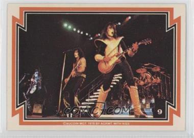 1978 Donruss Kiss Series 1 - [Base] #9 - KISS
