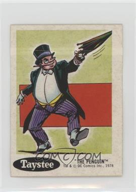 1978 Taystee DC Super Hero Stickers - Food Issue [Base] #18 - Penguin