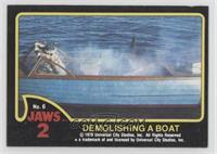 Demolishing a Boat [GoodtoVG‑EX]