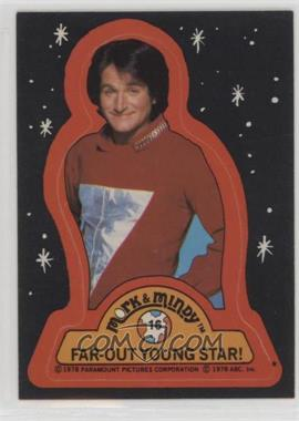 1978 Topps Mork & Mindy - Stickers #16 - Far-out young star!