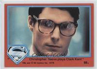 Christopher Reeve Plays Clark Kent