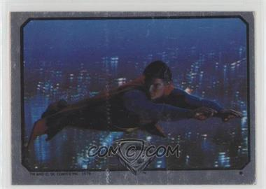 1978 Topps Superman The Movie - Foil Stickers #NoN - Superman (Flying) [Good to VG‑EX]