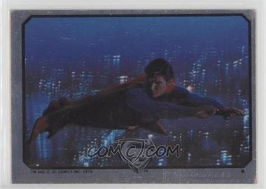 1978 Topps Superman The Movie - Foil Stickers #NoN - Superman (Flying) [GoodtoVG‑EX]