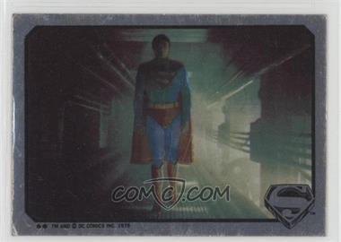 1978 Topps Superman The Movie - Foil Stickers #NoN - Superman (Walking) [GoodtoVG‑EX]