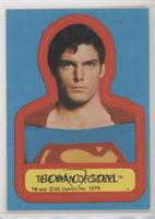 The Man of Steel (S Visible on Costume)