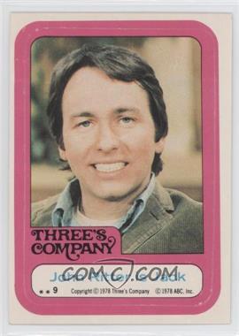 1978 Topps Three's Company - Stickers #9 - John Ritter is Jack