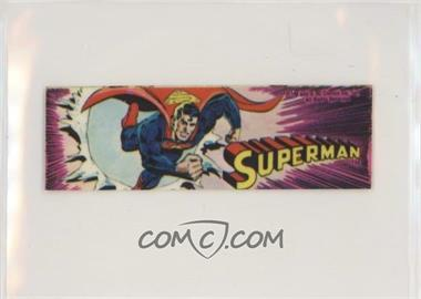 1979 Superhero Bookmarks - [Base] #SUPP - Superman (Purple)