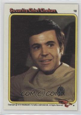 1979 Topps Star Trek: The Motion Picture - [Base] #18 - Security Chief Chekov