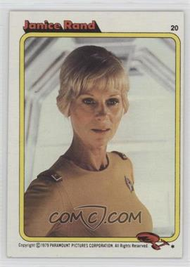 1979 Topps Star Trek: The Motion Picture - [Base] #20 - Janice Rand