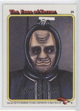 1979 Topps Star Trek: The Motion Picture - [Base] #25 - The Face of Terror