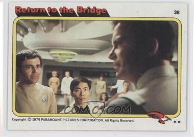 1979 Topps Star Trek: The Motion Picture - [Base] #38 - Return to the Bridge