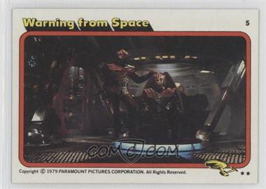 1979 Topps Star Trek: The Motion Picture - [Base] #5 - Warning from Space