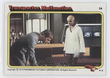 1979 Topps Star Trek: The Motion Picture - [Base] #54 - Transporter Malfunction