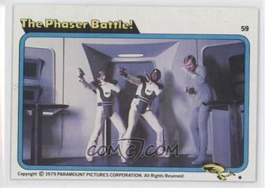 1979 Topps Star Trek: The Motion Picture - [Base] #59 - The Phaser Battle!
