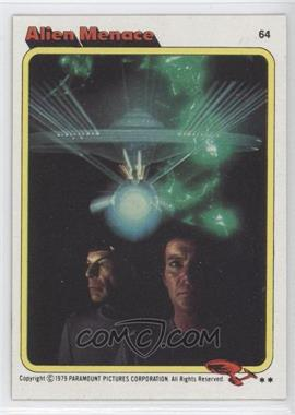 1979 Topps Star Trek: The Motion Picture - [Base] #64 - Alien Menace