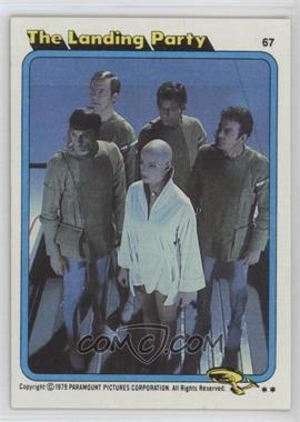 1979 Topps Star Trek: The Motion Picture - [Base] #67 - The Landing Party