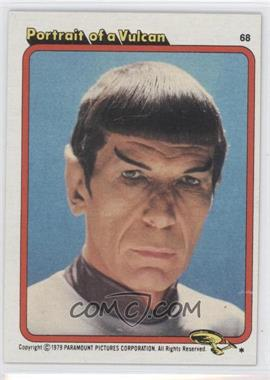 1979 Topps Star Trek: The Motion Picture - [Base] #68 - Portrait of a Vulcan