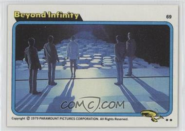 1979 Topps Star Trek: The Motion Picture - [Base] #69 - Beyond Infinity