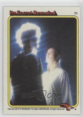 1979 Topps Star Trek: The Motion Picture - [Base] #71 - Its Secret Revealed
