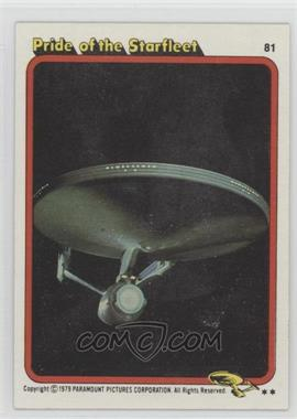 1979 Topps Star Trek: The Motion Picture - [Base] #81 - Pride of the Starfleet