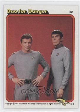 1979 Topps Star Trek: The Motion Picture - [Base] #82 - Duo for Danger