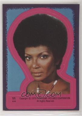 1979 Topps Star Trek: The Motion Picture - Stickers #11 - Nyota Uhura