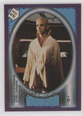 1979 Topps Star Trek: The Motion Picture - Stickers #12 - Ilia