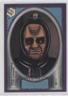 1979 Topps Star Trek: The Motion Picture - Stickers #13 - Alien