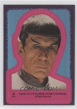 1979 Topps Star Trek: The Motion Picture - Stickers #9 - Spock