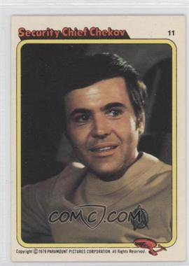 1979 Topps Star Trek: The Motion Picture Bread Series - [Base] - Rainbo Bread #11 - Security Chief Chekov
